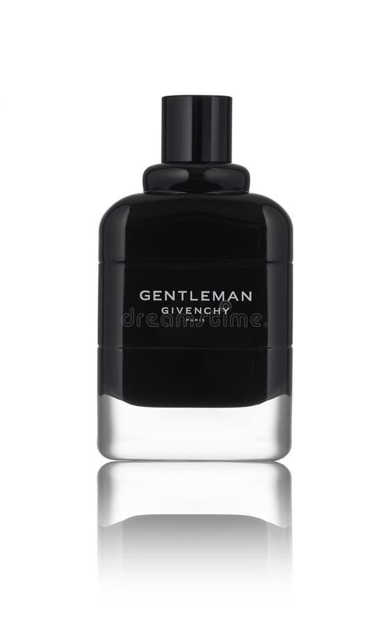 Een nieuwigheid van parfum in 2018, een nieuwe geur van Givenci stock fotografie