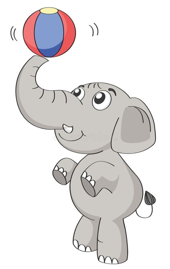 Een olifant vector illustratie
