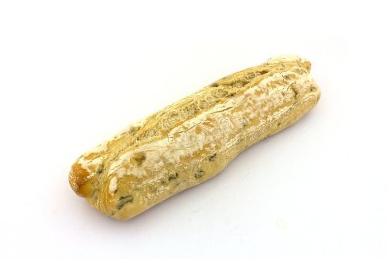 Een olijfbaguette stock foto