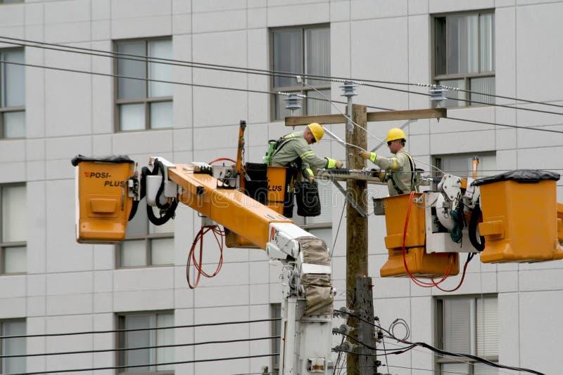 Een onderbreking van de Elektriciteit. royalty-vrije stock afbeelding