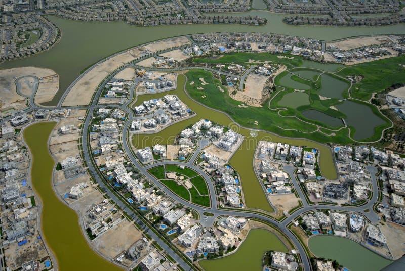 Een onroerende goederen Cursus van het Golf royalty-vrije stock foto
