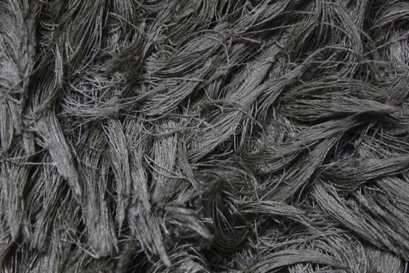Een ontwerp van draden van vloermat stock fotografie