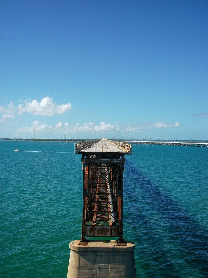 een onvolledige brug royalty-vrije stock foto's