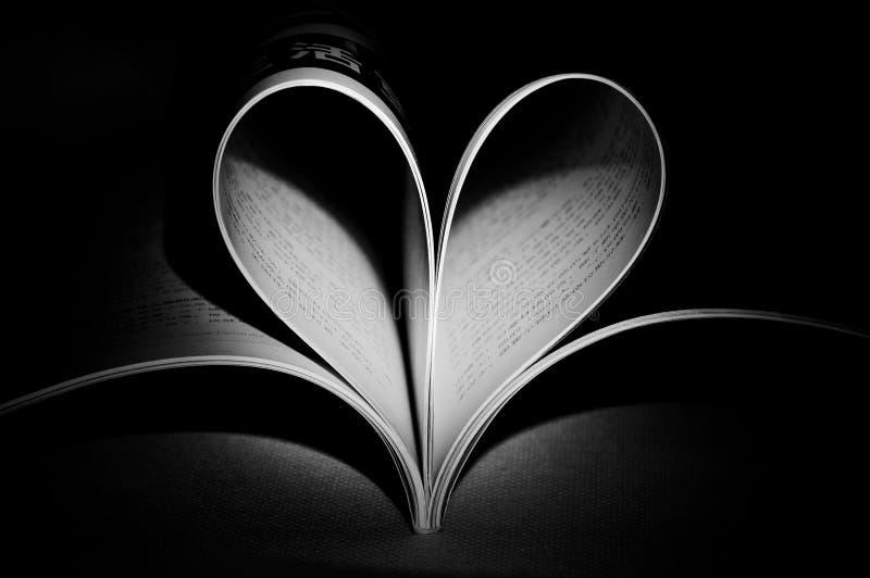 Een open boek stock foto