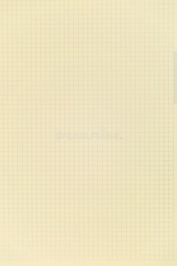 Een open leeg notitieboekje, pagina's in een kooi royalty-vrije stock foto's