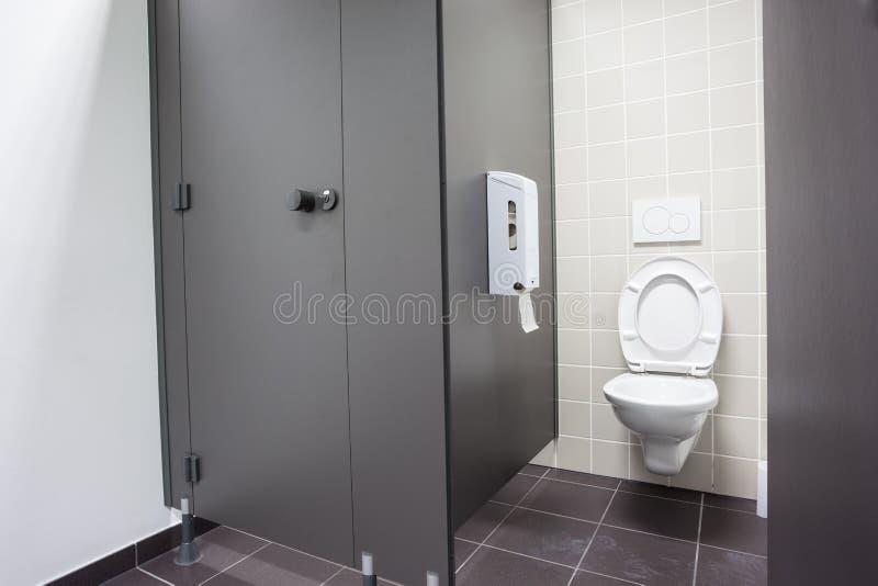 Een openbaar toilet royalty-vrije stock foto