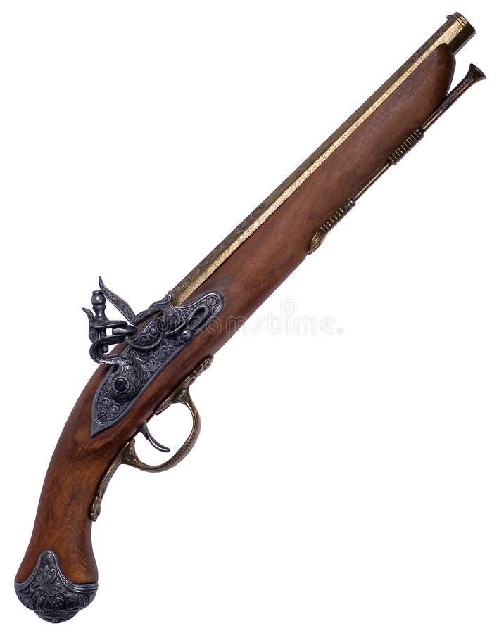 Een oud kanon. stock afbeeldingen
