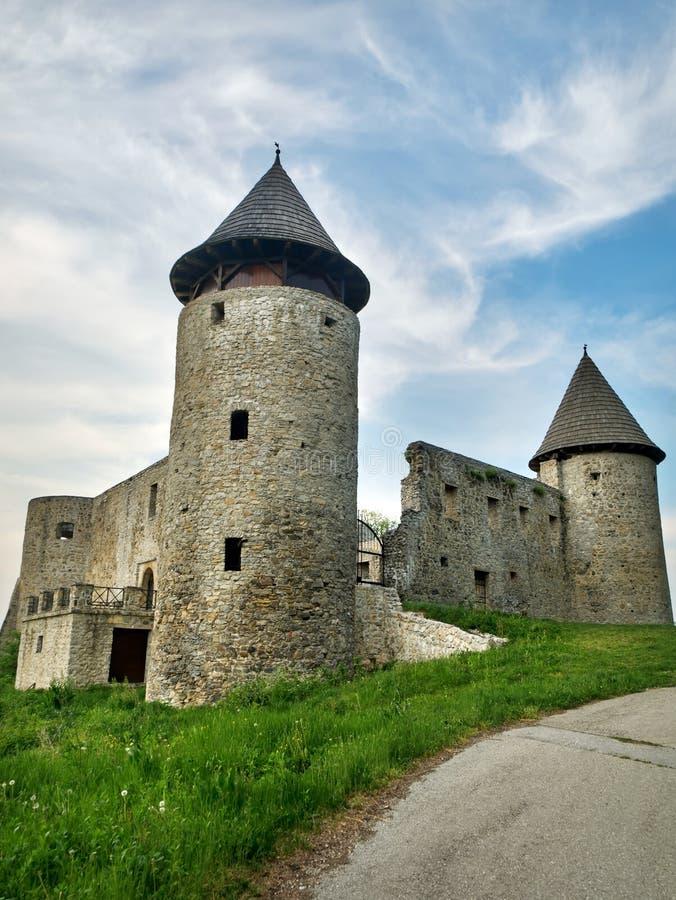 Een oud kasteel stock fotografie