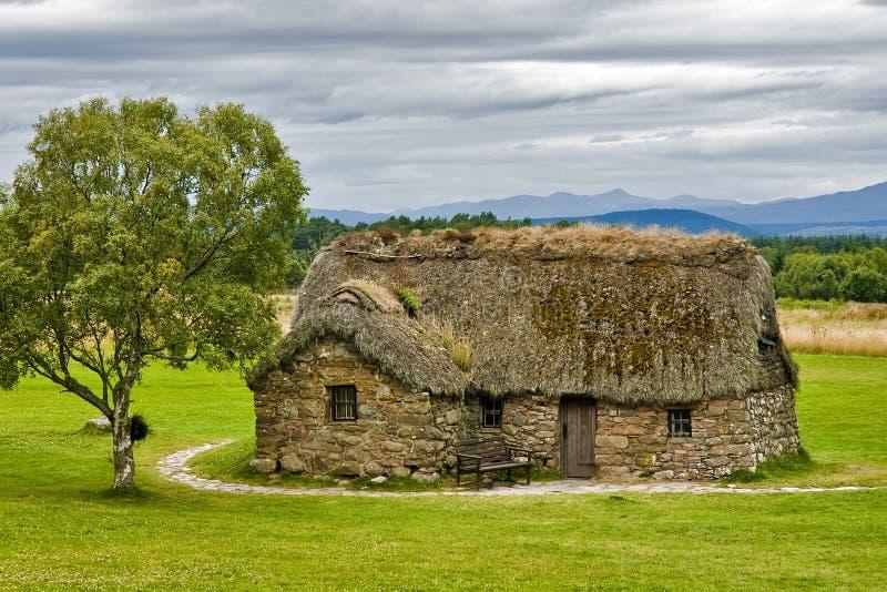 Een oud Schots huis royalty-vrije stock foto's