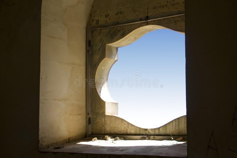 Een oud venster royalty-vrije stock foto