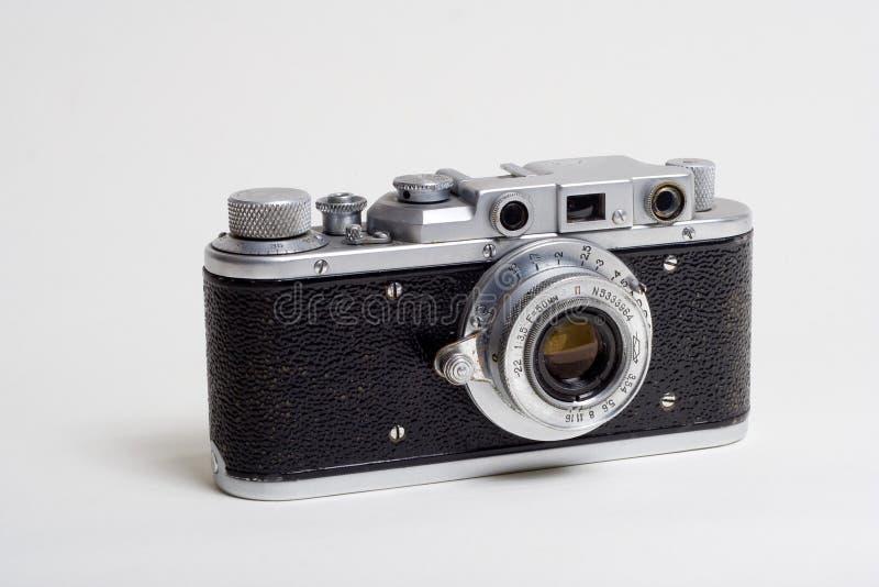 Een oude camera stock foto's
