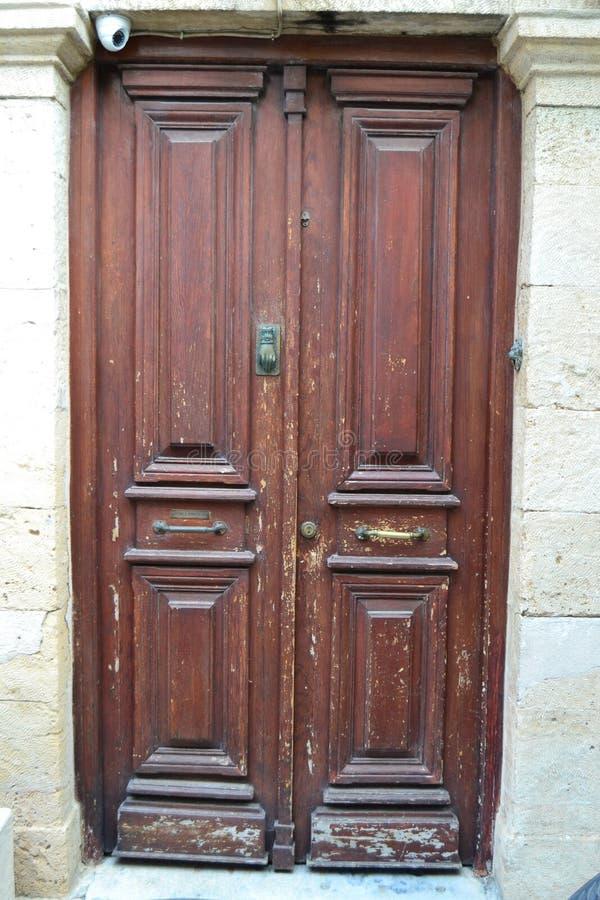 Een oude deur royalty-vrije stock foto's