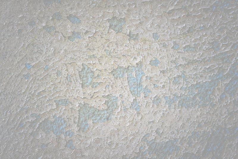 Een oude geschilderde concrete monumentenmuur zonder reparatie Abstract n stock afbeelding
