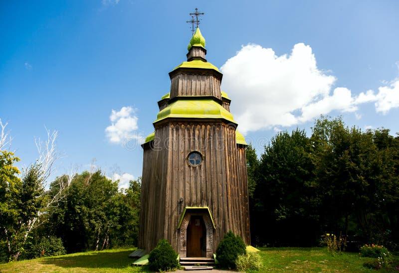 Een oude kerk royalty-vrije stock afbeelding