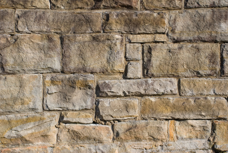 Een oude steenmuur stock foto