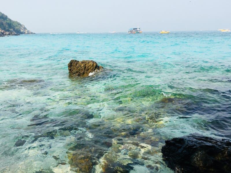 Een overzees in Thailand! royalty-vrije stock foto's
