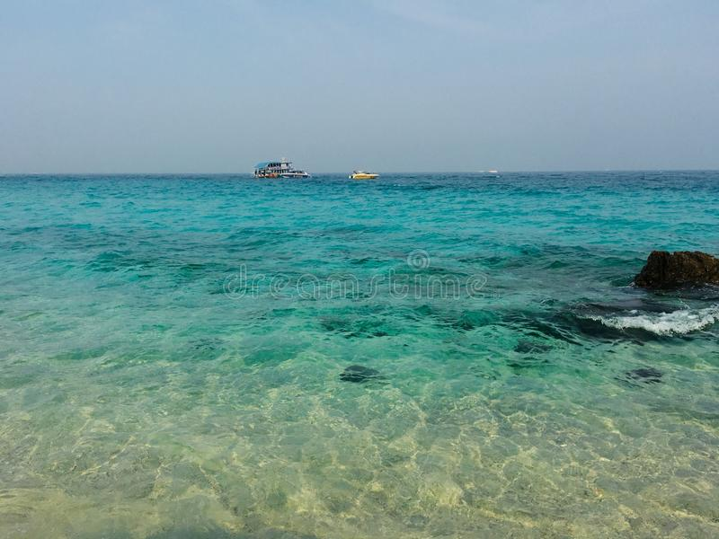 Een overzees in Thailand! royalty-vrije stock foto