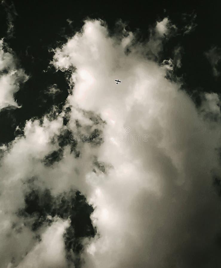 Een overzees van hemel royalty-vrije stock afbeelding
