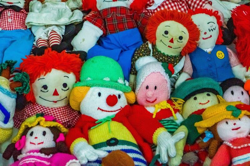 Een paar marionetten of poppen royalty-vrije stock afbeeldingen