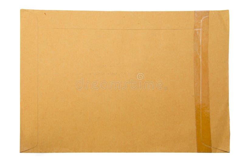 Een pakpapieromslag stock fotografie