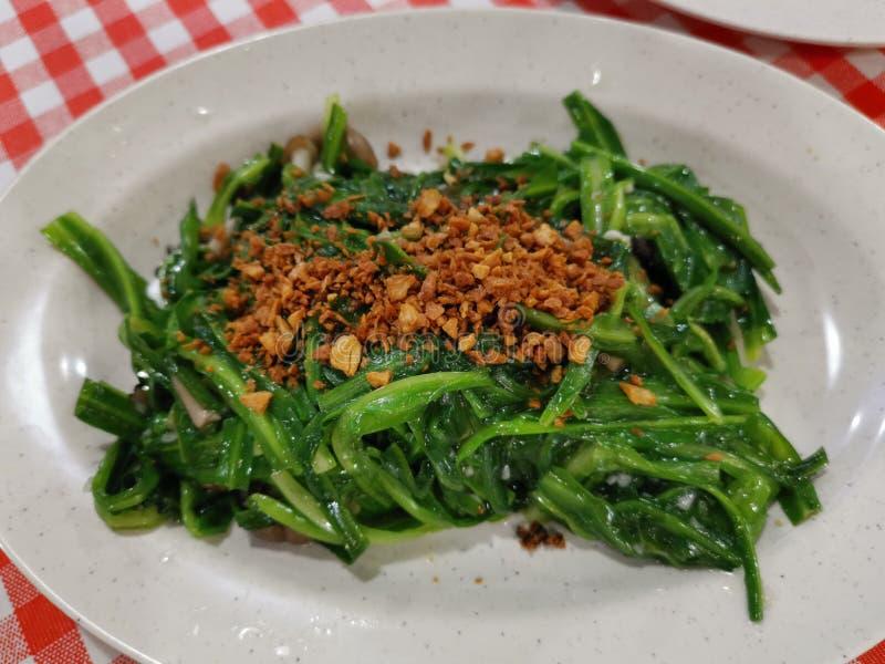 Een plaat groenten stock fotografie
