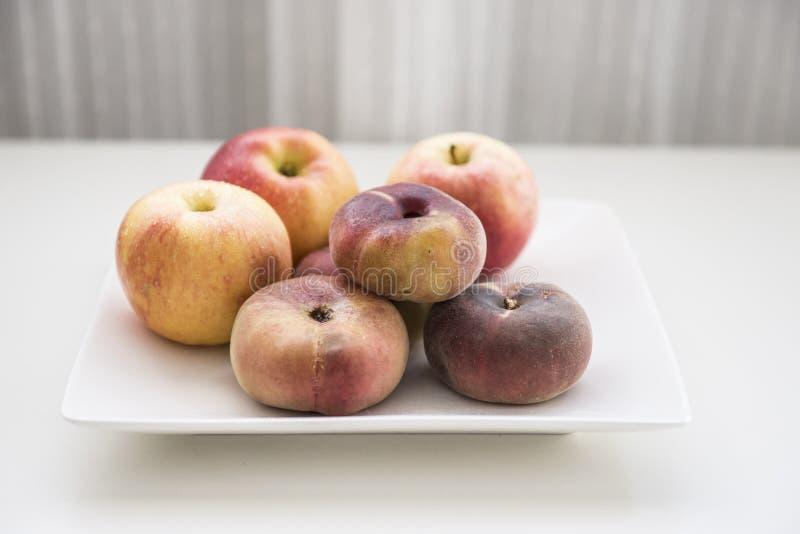 Een plaat van fruit royalty-vrije stock fotografie