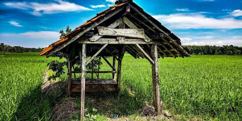 Een plaats voor rustende landbouwers stock foto's