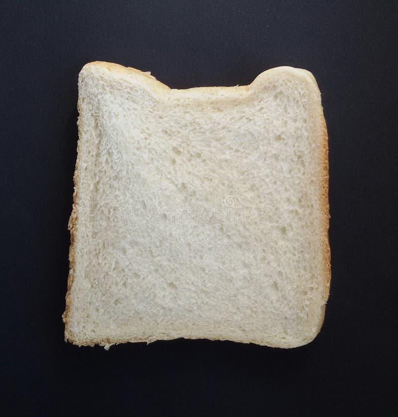 Een plak van toost sneed brood geschikt om te roosteren royalty-vrije stock foto