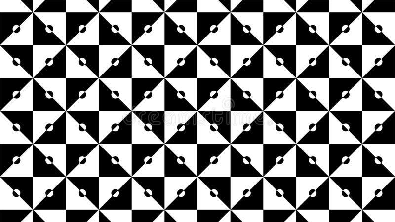 Een prachtige achtergrond voor een groep driehoeken en harmonische cirkels die, mooie kleuren en aantrekkelijke kleuren met wh ov royalty-vrije illustratie