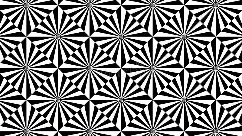 Een prachtige achtergrond voor groep driehoeken en harmonische vierkanten die, mooie kleuren en aantrekkelijke kleuren met wit ov royalty-vrije illustratie