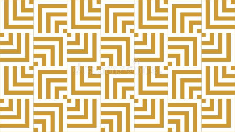 Een prachtige achtergrond voor vierkanten gaf groep gestalte die uit eensgezind genestelde vierkanten, mooie kleuren en aantrekke stock illustratie