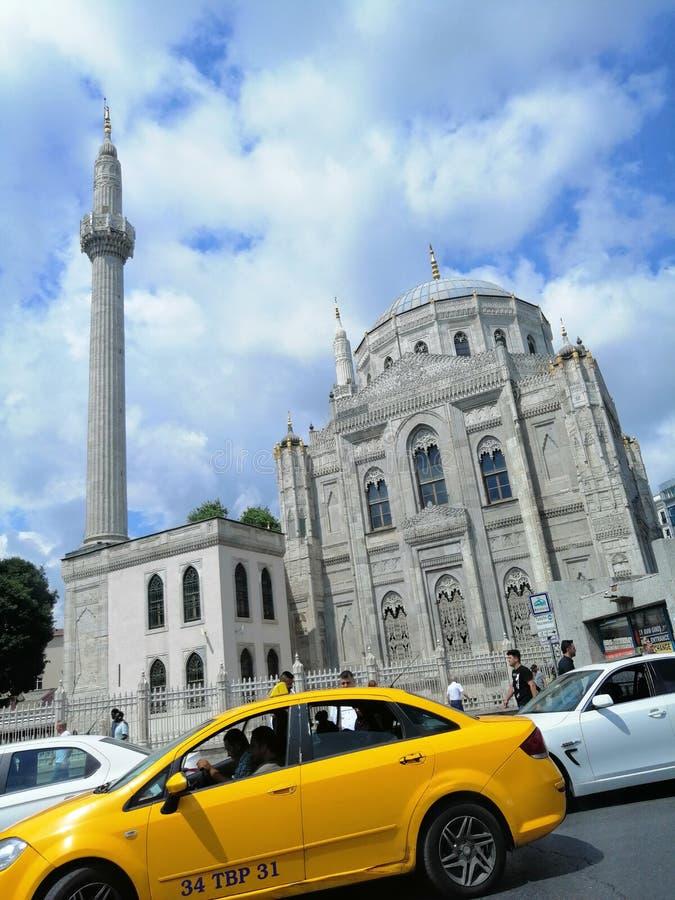 Een prachtige mening van Istanboel royalty-vrije stock afbeelding