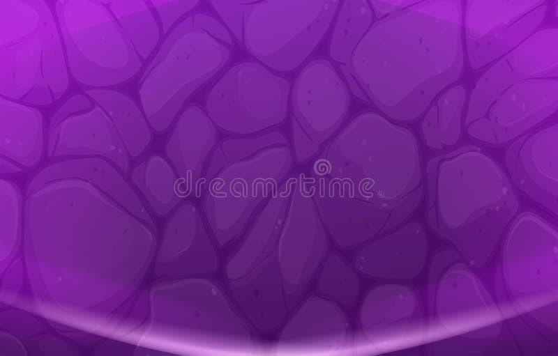 Een purpere achtergrond vector illustratie