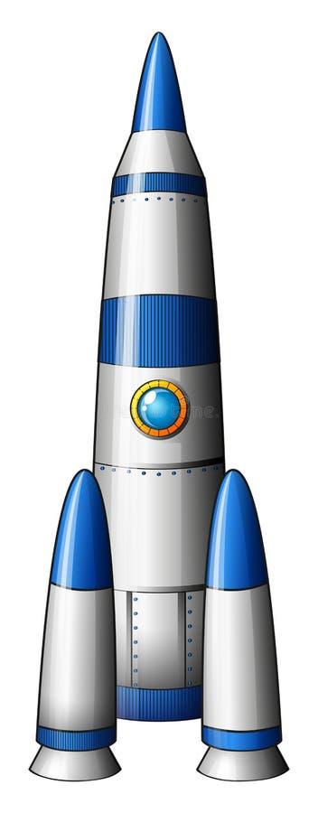 Een raket royalty-vrije illustratie