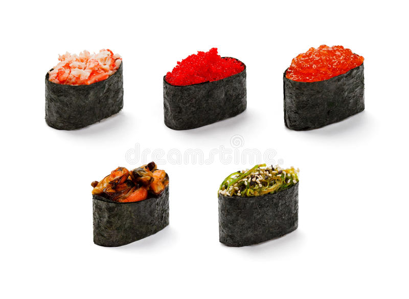 Een reeks van susi royalty-vrije stock afbeelding