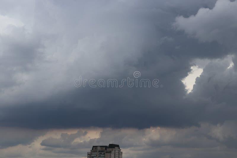 Een regenachtige dag stock fotografie
