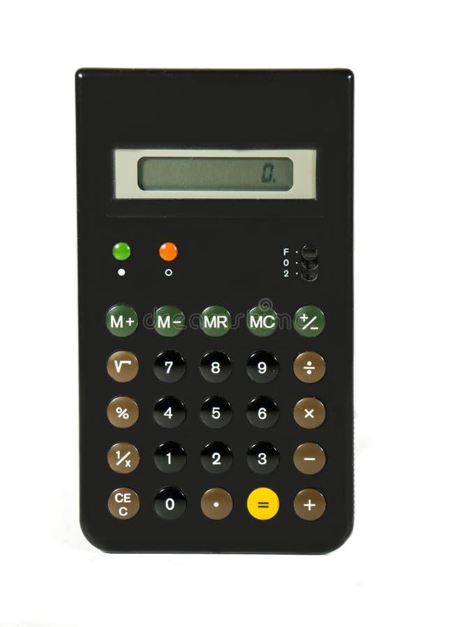 Een Retro Hand - gehouden Calculator royalty-vrije stock foto's