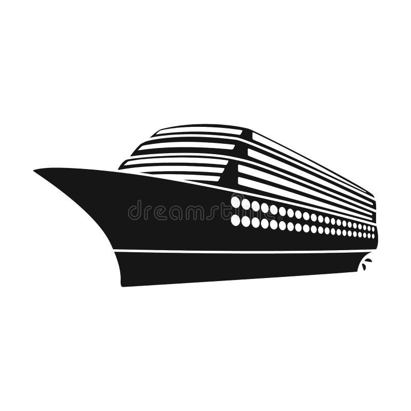 Een reusachtige cruisevoering stock illustratie