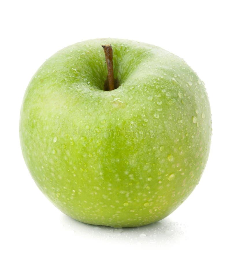 Een rijpe Groene Appel stock fotografie