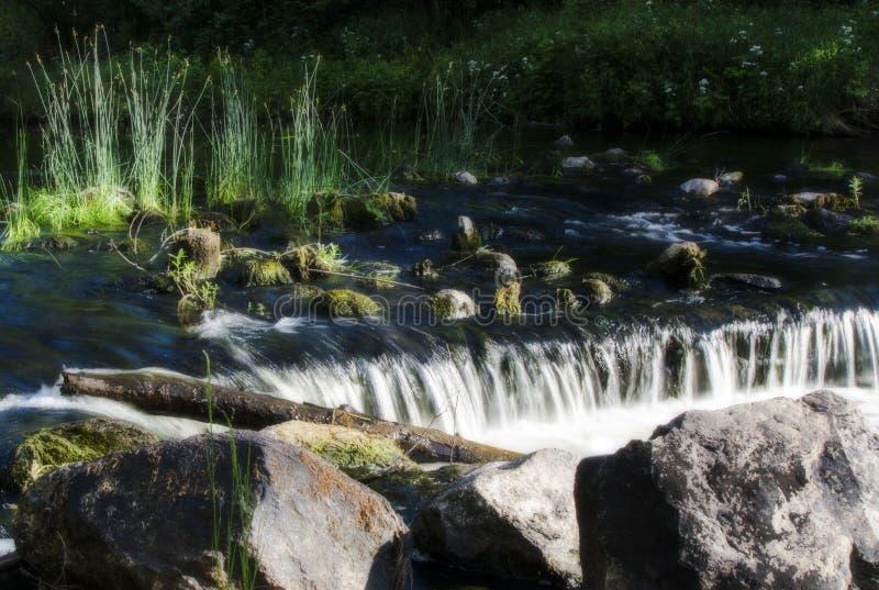 Een rivier stock foto's