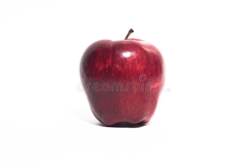 Een rode Appel stock afbeelding