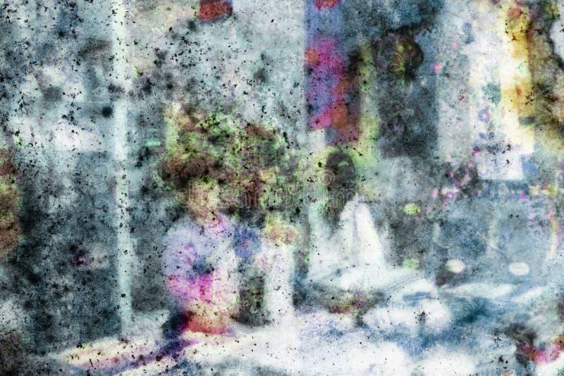 Een schildereffect op een foto royalty-vrije stock fotografie