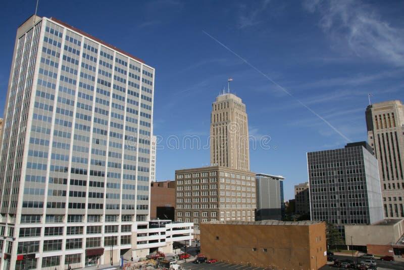 Een schot van de Stad van Kansas stock foto