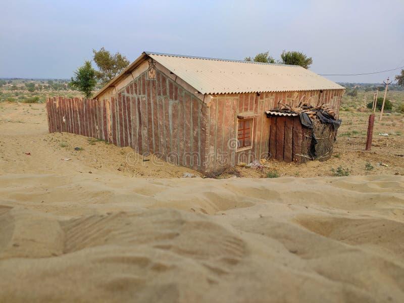 Een schuilplaats in de woestijn, royalty-vrije stock afbeeldingen