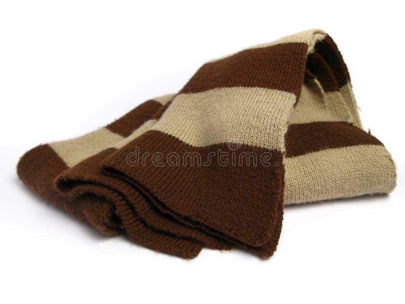 Een sjaal die van wollen wordt gemaakt royalty-vrije stock foto's