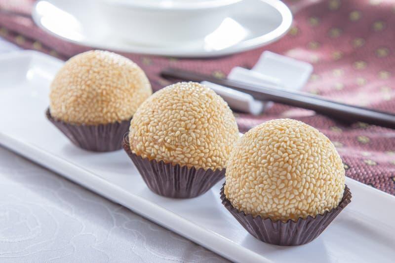 Een smakelijke keukenfoto van dessert royalty-vrije stock afbeelding