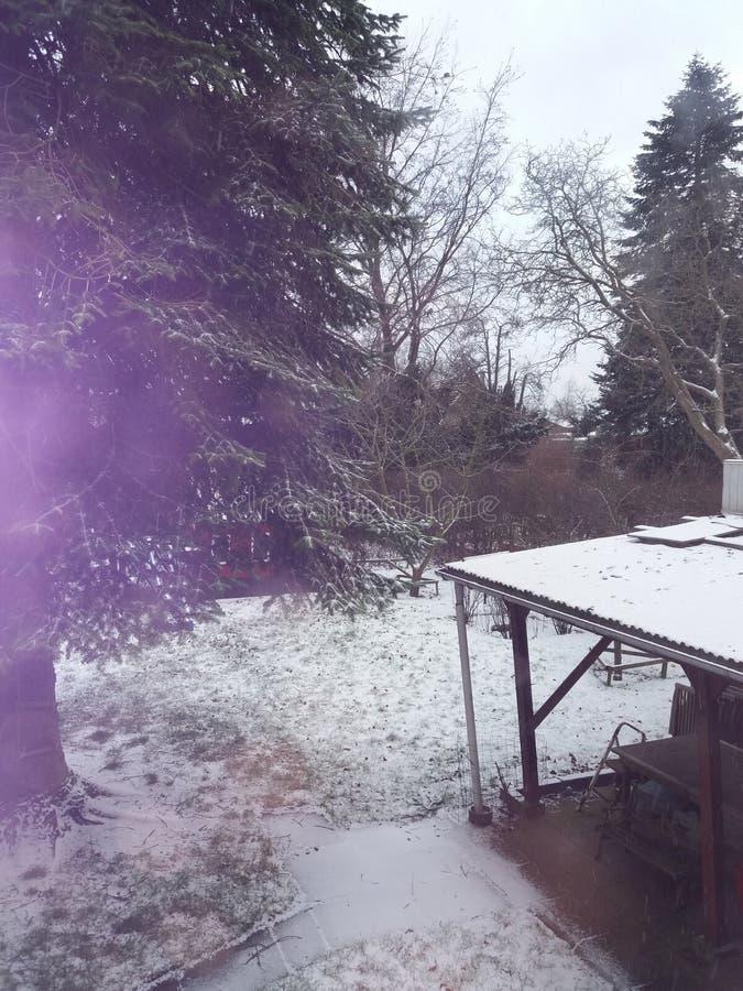 Een sneeuwdag stock foto