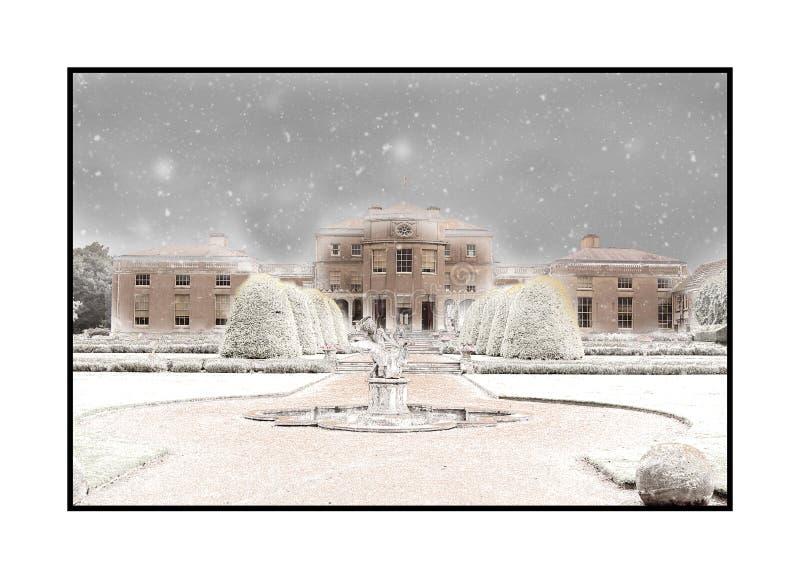 Een Sneeuwshugborough-Zaal royalty-vrije stock foto's