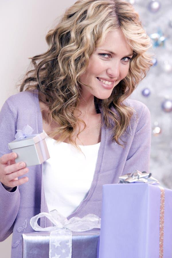 Een speciale Kerstmisgift royalty-vrije stock foto
