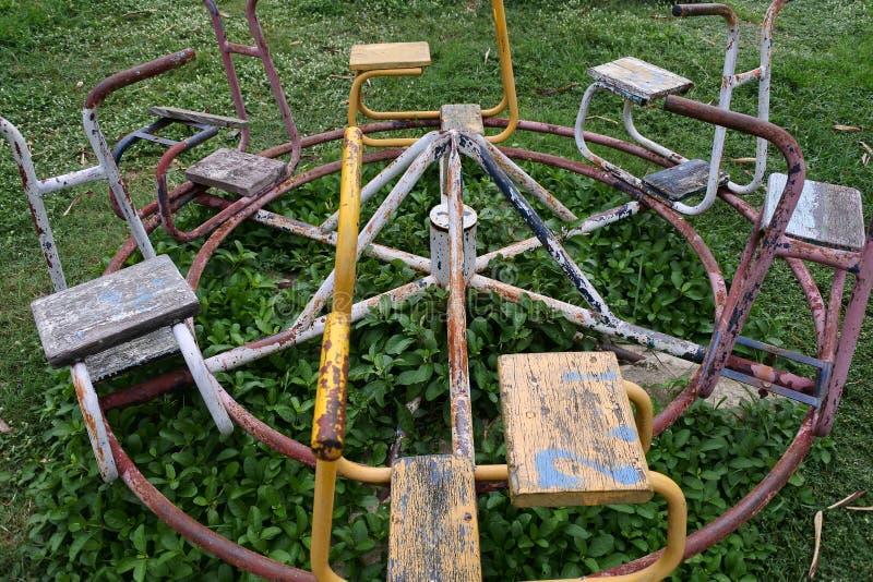 Een speelplaats van kinderen stock afbeelding